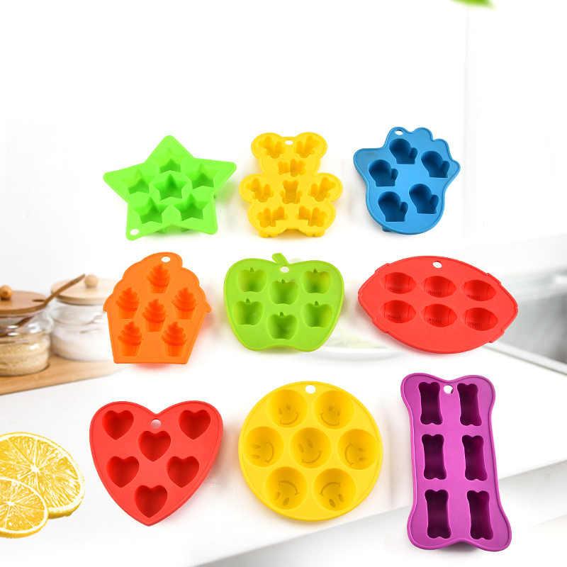Форма Для Замораживания Кубиков желе пудинг силиконовая форма для шоколада
