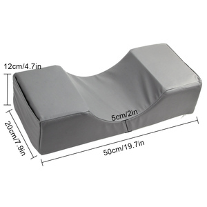 Image 3 - Eyelash Extension Pillow Memory Foam Neck Lash Pillow with Acrylic Shelf Organizer Stand Grafting Eyelash Salon Makeup Tools