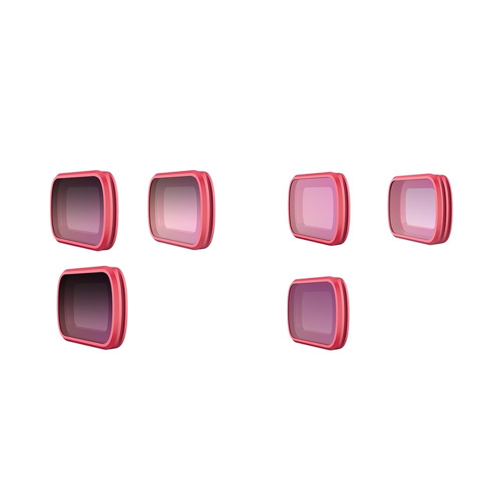 Pour Kit de filtre d'objectif de caméra ensemble UV CPL ND 8/16/32 pour cardan de poche DJI OSMO