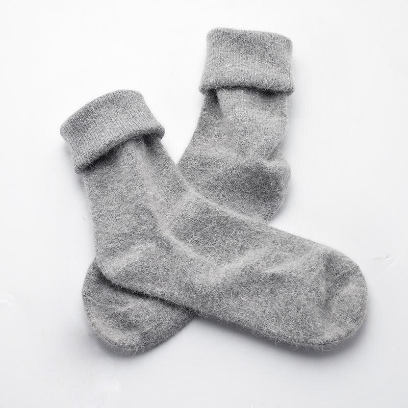 New High Quality Thick Angola Rabbit&Merino Wool Socks Women Winter Socks Women Female Socks Warm Socks For Women Big Size one set winter thick socks