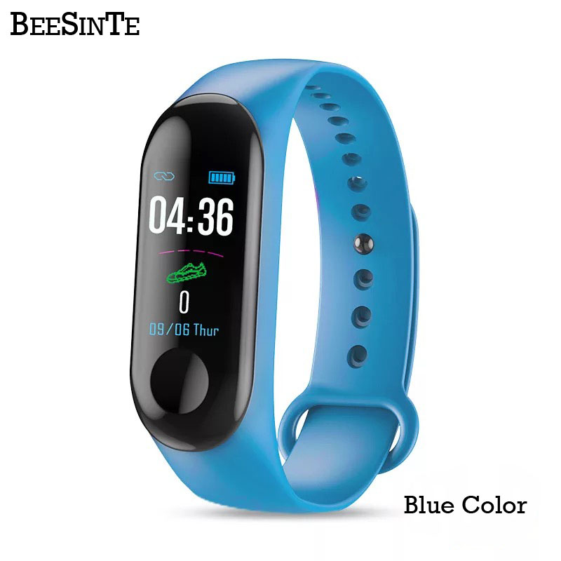 Image 4 - Smart Bracelet Fitness tracker Blood Pressure Outdoor IPS Screen Heart Rate Monitor Life Waterproof Smart Wristbands PKMi Band 3-in Smart Watches from Consumer Electronics