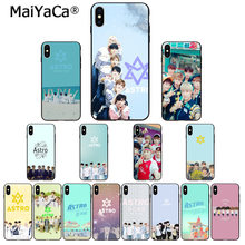 MaiYaCa KPOP ASTRO Heart shaped K-POP DIY Beautiful Phone Accessories Case for Apple iPhone 8 7 6 6S Plus X XS MAX 5 5S SE XR(China)