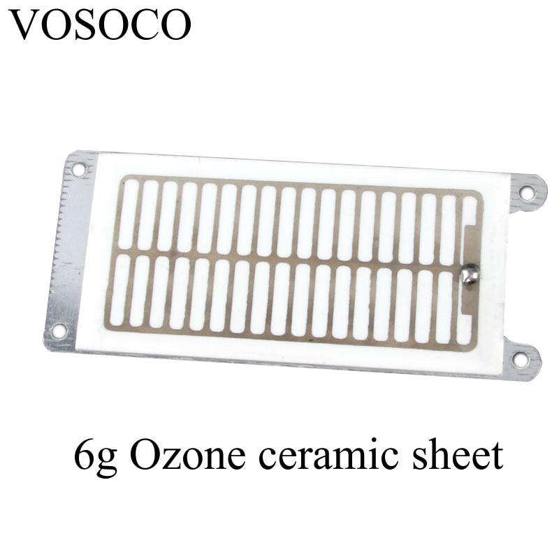 Ozone machine DIY High-efficiency 6g ozone ceramic sheet accessories Ozone generator ceramic piece все цены