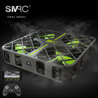 SMRC M8 Square RC Quadcopter Foldable Mini Pocket Drone With 0 3MP Camera Wifi FPV Live