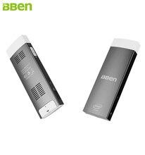 Bben Мини-ПК Окна 10 и двойной ОС Android 5.1 Intel Процессор Z8350 2 г/32 ГБ Quad Core Мини-ПК Wi-Fi BT4.0 HDMI Мини-ПК stick компьютерные