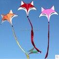 Envío de la alta calidad encantadora zorro cometa con línea de la cometa pájaro de weifang kite volando chino dragón hcxkite fábrica