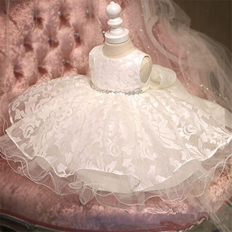2017 Real New Elegant Sweet Fluffy Diamond   Flower     Girl     Dress   Tutu Party Pageant for Little   Girls   Prom Wedding Birthday   Dresses