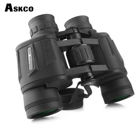 askco binoculos 8x40 telescopio de caca profissional