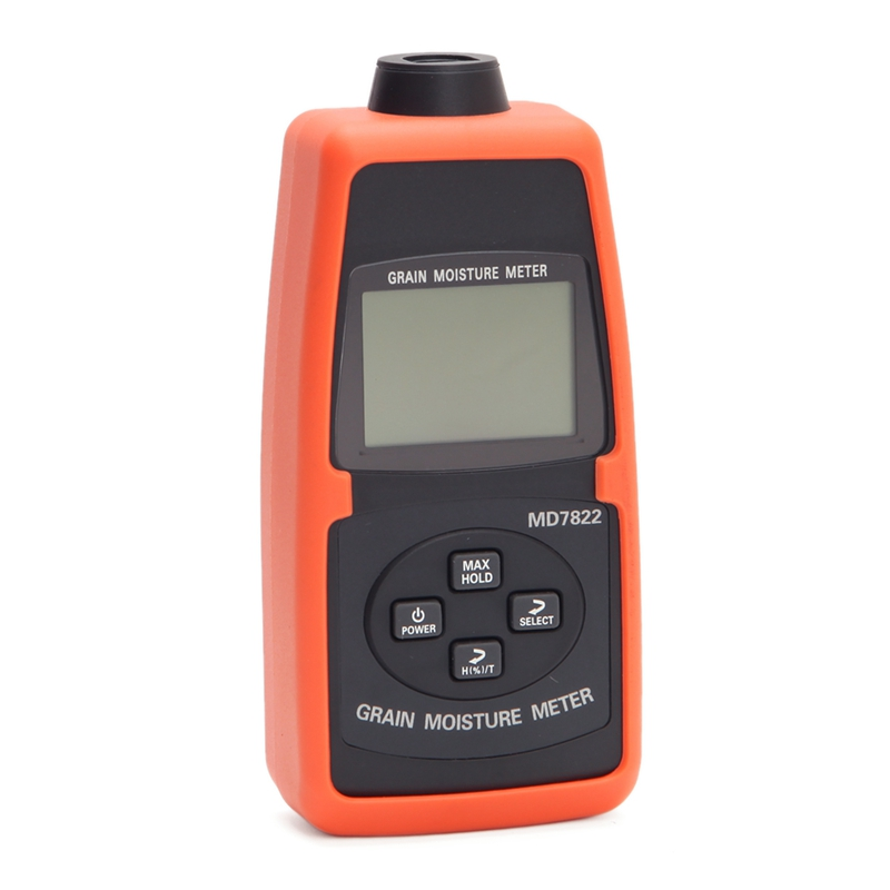 Medidor de humedad de grano digital 2% ~ 30% portátil de humedad de grano medidor de luz de fondo con LCD contiene trigo maíz arroz herramientas para la humedad - 3