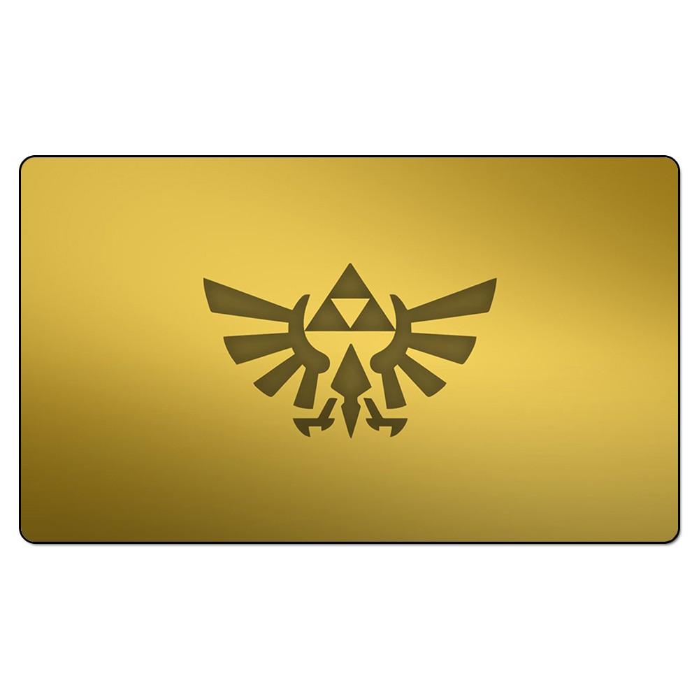 Zelda Triforce Playmat Video Games Legends Of Playmat Zelda Table - Custom table pads 69 usd