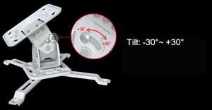 Image 5 - NBT717M Universal Projector Bracket Ceiling Mount Hanger Tilt Swivel Full Motion
