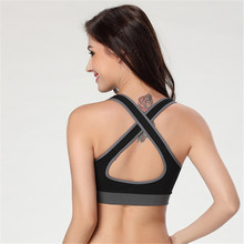 New Arrival Women Girl Stretch Athletic Sports Bras