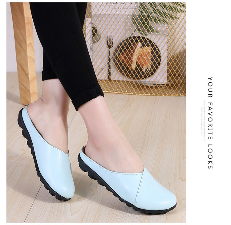 AH 9918-2018 New Women Flats Loafers Shoes-20