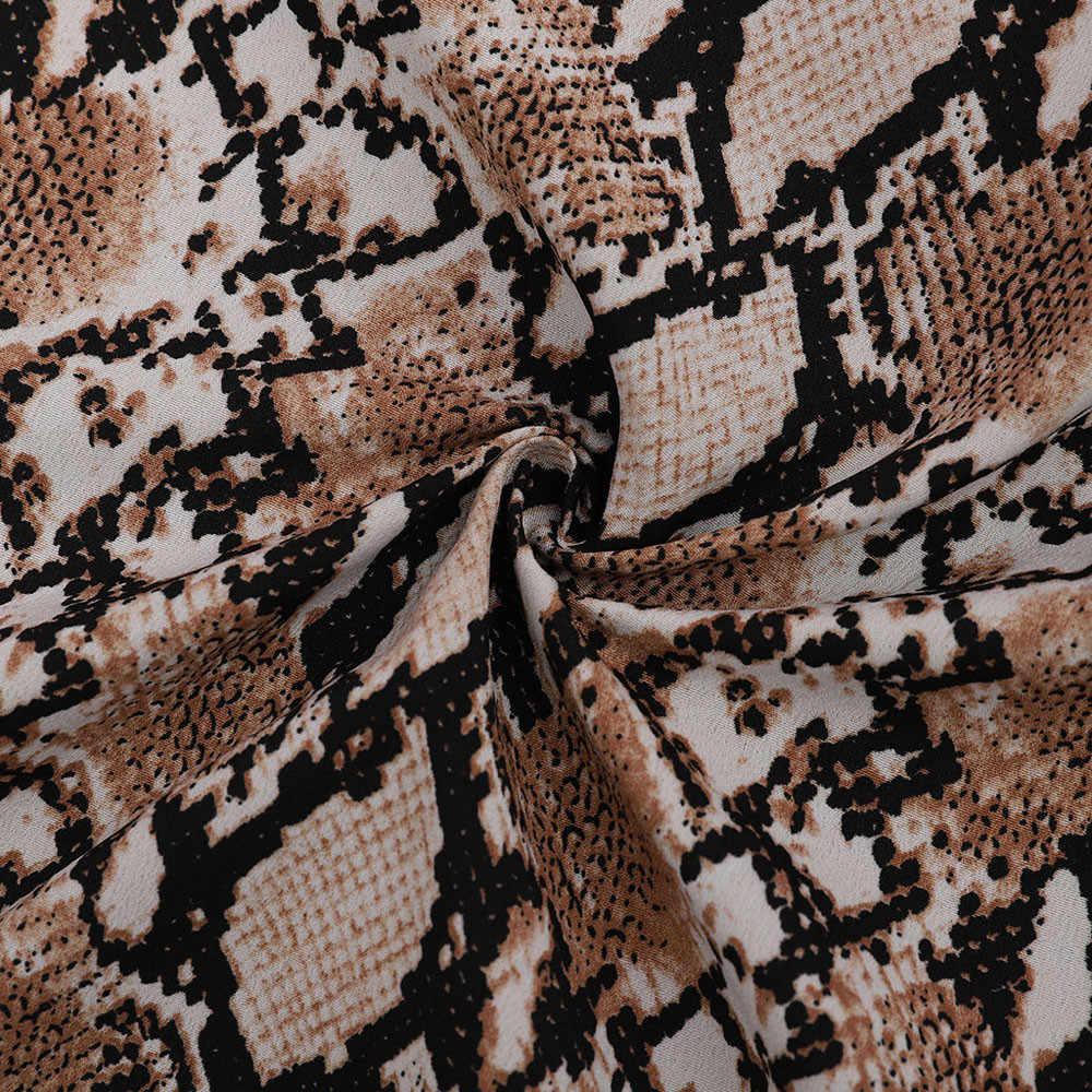 女性のスネークプリント長袖スーツコートブレザーバイカージャケット生き抜くトップス女性のスネークプリントブレザー女性のスーツトップ女性 z0521