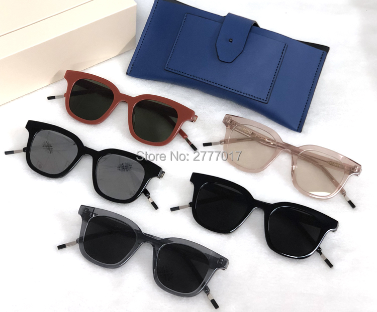 Small Square Sunglasses For men Vintage Glasses Gentle Brand Dal lake Designer Sun Glasses Female Retro
