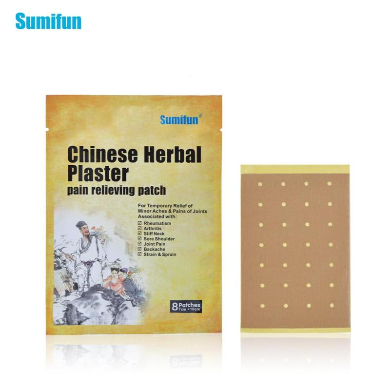 40Pcs/5packs Pain Relief Patch Chinese Herbal Medical Plaster Arthritis cervical wet joints shoulder waist spine plasters C3