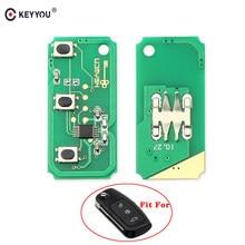 KEYYOU 433MHz 3 botones de control remoto clave circuito placa electrónica para Ford Focus 2 3 Mondeo Fiesta C Max Galaxy