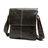First Layer Cow Skin 100 Genuine Leather Bag For Men Vintage Style Men S Business Messenge