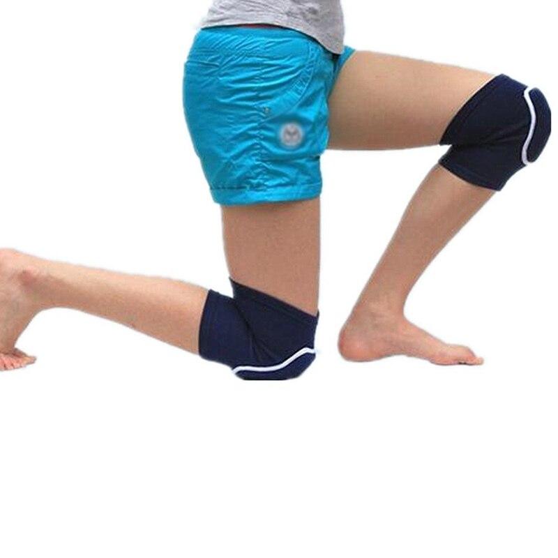 1 пара наколенники дышащий колено Поддержка Неломающийся Антискользящий ног колено рукав защитный коврик