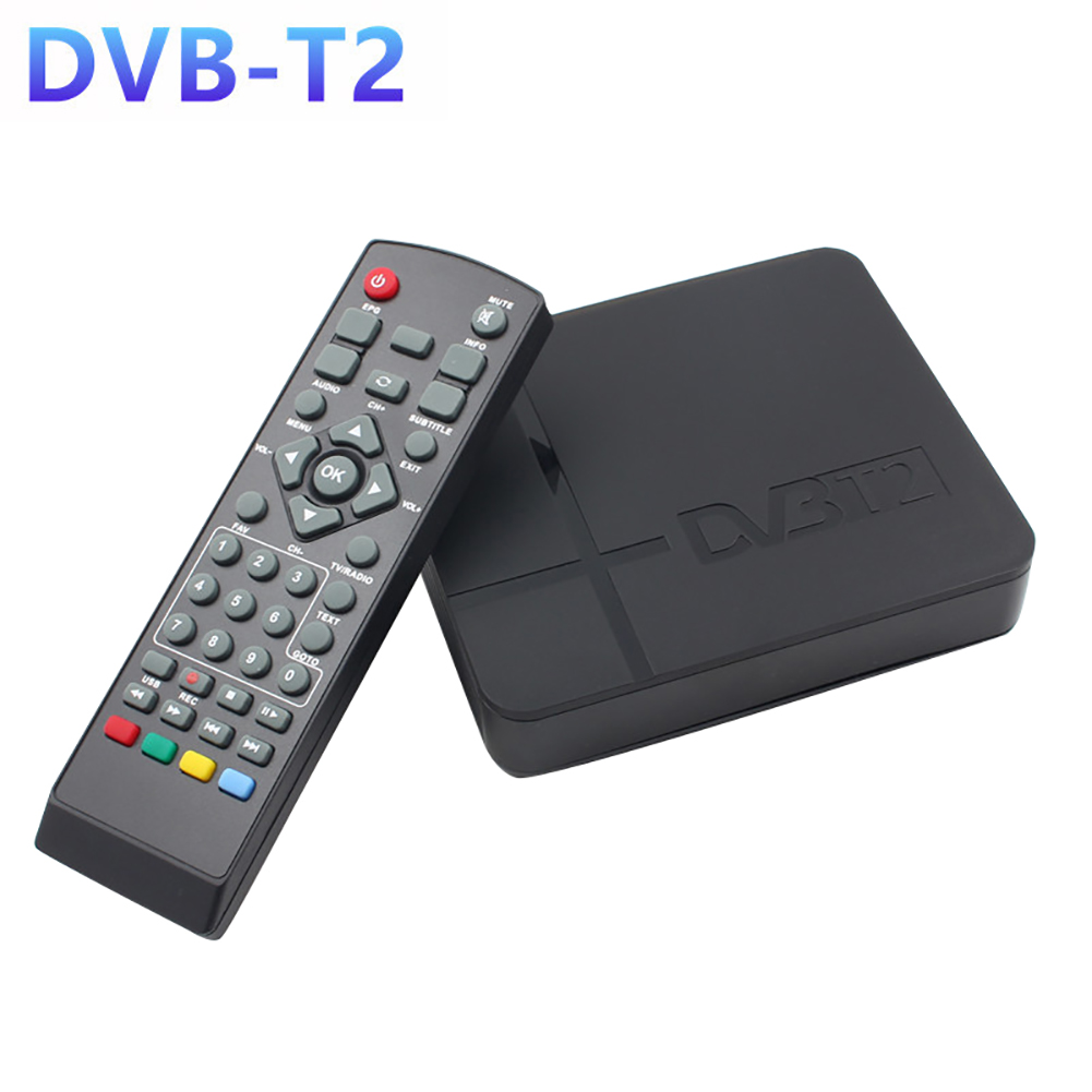 Mini HD DVB-T2 K2 WiFi Terrestrial Receiver Digital TV Box with Remote Control