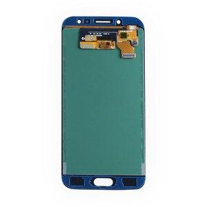 Image 3 - 5.5 inç ekran paneli meclisi Samsung Galaxy J7 Pro J730 dokunmatik ekran LCD değiştirme ile ayarlamak parlaklık