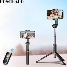 Get more info on the 3 in 1 Mini Bluetooth Selfie Stick Remote Control Tripod for iPhone X Android Smart Phone Universal Live Camera Artifact Tripods