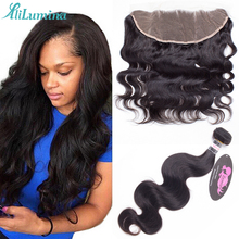 Nice Peruvian Virgin Hair Body Wave With Closure Stema Hair Company 3 Bundles With Frontal Closure Human Hair Weave Closures