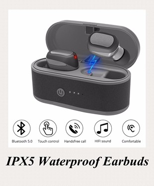 IPX5 Waterproof Earbuds