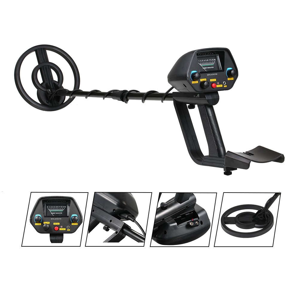 Underground Metal Detector MD-4080 Professional Gold Track Iron Finder Searching Treasure Hunter Adjustable Camping Equipment md 6350 underground metal detector gold detectors md6350 treasure hunter detector circuit metales