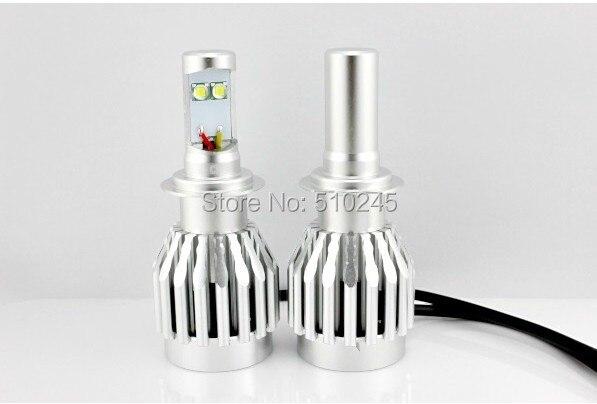 10 SET X 2014 new products12V 24V 20W H7 LED Headlight 3000Lm XML-2 Chip White LED Car Fog Light Lamp free shipping