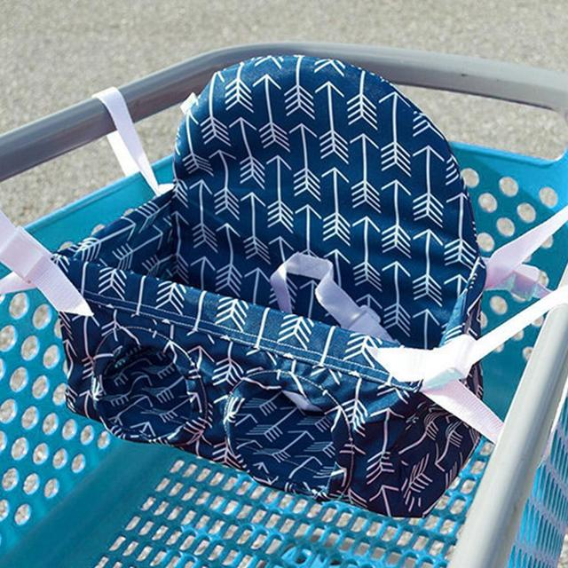 Baby Shopping Cart Seat Hammock Supermarket Shopping Cart Baby Seating Guard Portable Child Chair Safety Seats 1