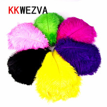 20PCS Fly Tying Materials Ostrich Herl Feathers Multicolor Trout Fly Fishing Bait Lure Jig Rig Making Streamer Fishing