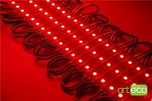 Image 3 - Módulo de led de 100 pçs/lote dc12v 5050 3leds, rgb luz de módulo de led rgb ip65 à prova dágua