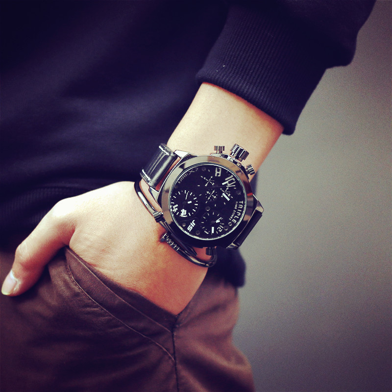 watch products luxury qualitygrab leather watches jis military