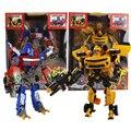 25 cm modelo de Coche Autobots acción juguetes Robocar Transformación Robots juguetes de Niño Juguetes Clásicos Figuras de Acción Regalos Para Los Niños