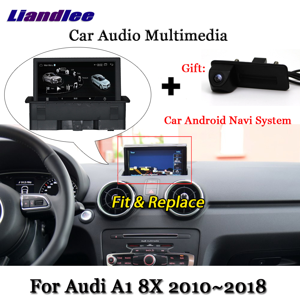 Liandlee Car Android System For Audi A1 8X 2010 2018 Stereo Radio DVD TV Carplay Camera
