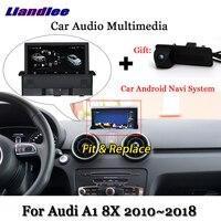 Liandlee Car Android System For Audi A1 8X 2010~2018 Stereo Radio DVD TV Carplay Camera GPS Navi Navigation BT Screen Multimedia