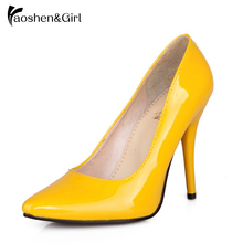 Women Stiletto Heels Black Pumps High Heel Pointed Toe Sexy Shoes Ladies Wedding Party Shoes Woman Talon Femme G797