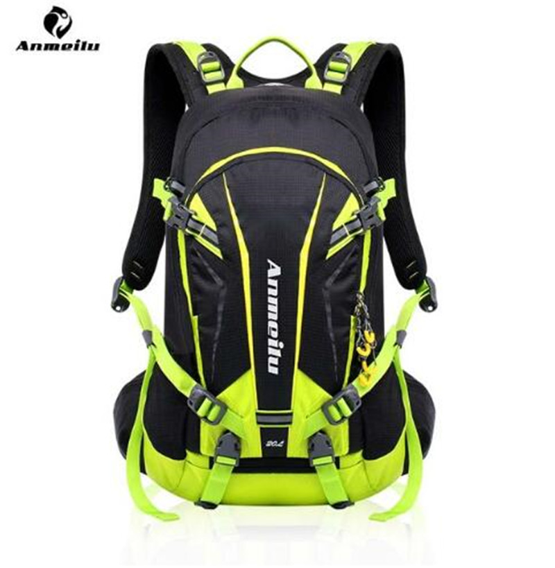 ANMEILU Men Women 20L Outdoor Sport Bag Climbing Rucksack Cycling Backpack Waterproof Bag Running Hiking Travel Bag anmeilu waterproof unisex travel bag 20l outdoor bicycle bike bags mountain camping climbing rucksack outdoor hiking hunting bag