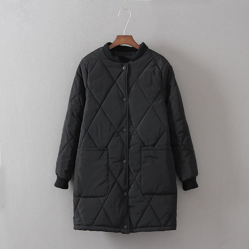 ФОТО New Winter Thicken Down Coat Warm Long Bomber Jacket Plus Size Wadded Parka Down outerwear Women Stand collar diamond Coats