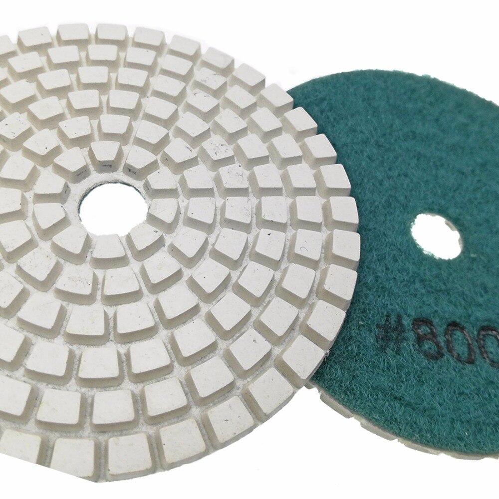 e Polimento de Mármore 80mm Sulfite Branco disco de lixa
