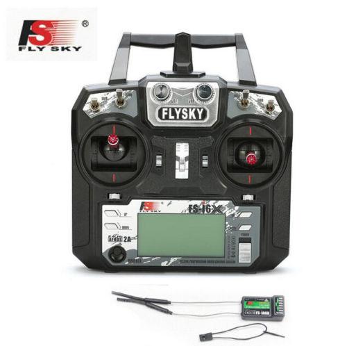Flysky FS i6X 10CH 2.4 GHz AFHDS 2A RC 송신기 FS iA6B FS iA10B FS X6B FS A8S 수신기 Quadcopter Mode2-에서부품 & 액세서리부터 완구 & 취미 의  그룹 1