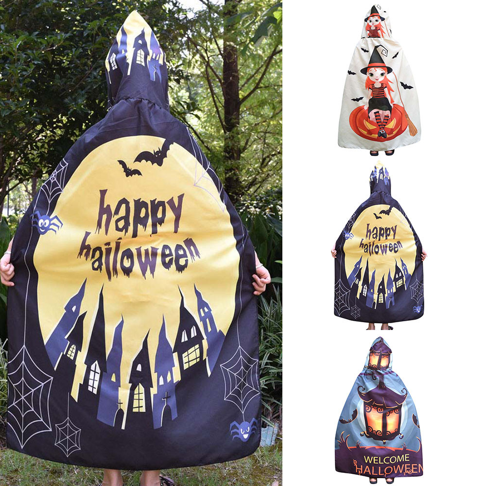 MUQGEW halloween costumes for kids girls Cape Cloak Kids Letter Print Wings Shawl Scarves Poncho Costume Accessory  #TX4