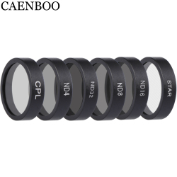 CAENBOO Drone Filters ND4 8 16 32 Neutral Density CPL Polar Lens Filter Set Protector For DJI Mavic Air Camera Accessories