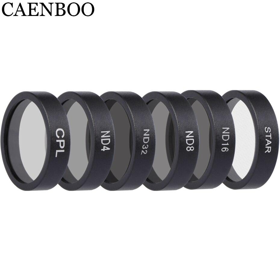 CAENBOO Drone filtres ND4 8 16 32 densité neutre CPL polaire lentille filtre Set protecteur pour DJI Mavic Air caméra accessoires-in Filtre de drone from Electronique    1