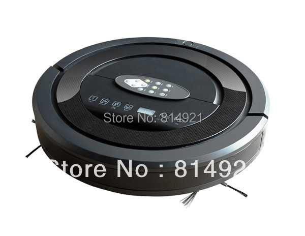 Robot vacuum cleaner,Ultrasonic Wall,Schedule Function,auto charge,2pcs sidebrush,2pcs rolling brush, Free shipping Wholesale