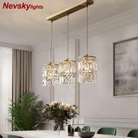 Modern pendant lamp dining crystal pendant lights for bar Minimalist crystal lamp bedroom bedside light crystal fixtures kitchen