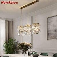 Moderno pingente lâmpada de jantar luzes pingente de cristal para barra minimalista quarto lâmpada de cabeceira luz cristal luminárias cozinha|Luzes de pendentes| |  -