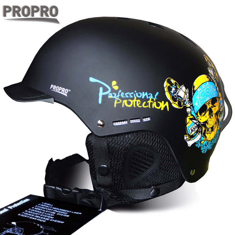 Access Control Cards Security & Protection Skiing Helmet Autumn Winter Adult And Children Snowboard Skateboard Skiing Equipment Snow Sports Safty Ski Helmets 56-60cm Traveling