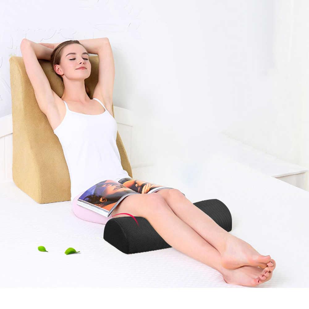 Домашний ног Подушка, снижающая нагрузку из пены с эффектом памяти под офисный стол полуцилиндром ног массажер для похудения живота отдыха ног Подушка для отдыха s